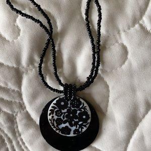 Gorgeous beaded Massini necklace
